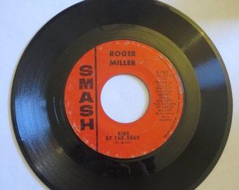 "Roger Miller – Atta Boy Girl/King Of The Road 45 RPM 7"" Vinyl Record 1965"