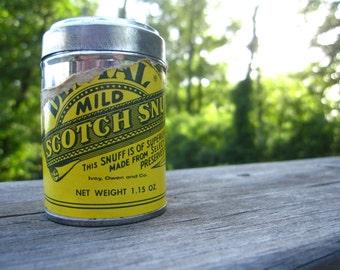 Dental Mild Scotch Snuff Can- small