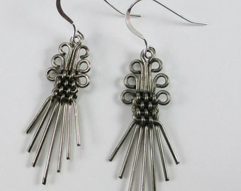 Basket Weave Earrings