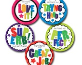 ALPHA MAGNETS Personalized stickers for Teachers