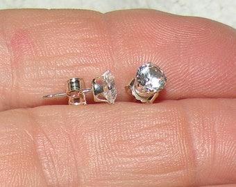 1.00tcw (diamond-like)White Sapphire Earrings