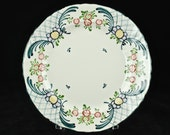 "Antique Georg Schmider Zell Hand Painted ""Favorite"" Plate"