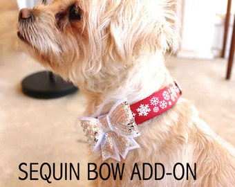 ADD ON Sequin Bow