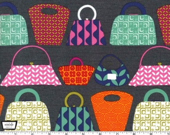 Purses Galore - Jewel - Cotton Print Fabric from Michael Miller
