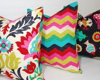 Waverly Trio Santa Maria Desert Flower Panama Wave Mexicali Pillow Covers Decorative Pillow Choose Size
