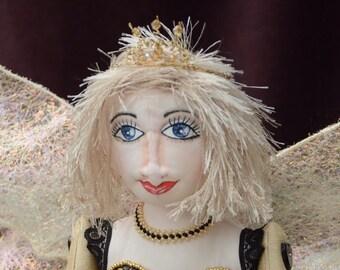 Fairy Art Doll, OOAK handmade in UK