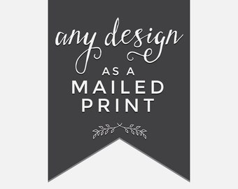 Print and Mail any Bokeh Ever After digital download printables in the shop