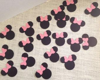 20 Minnie Mouse Confetti
