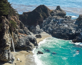 Big Sur Print, California Coast Photo, Travel Photography, Beach Photography, Coastal Decor, California Photo, Travel Art, Travel Print