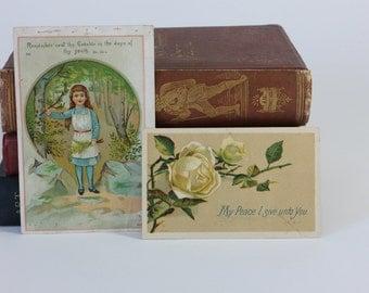 Vintage Prayer Cards, Funeral Prayer Cards