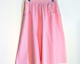 Pink A-line Skirt / Size 10
