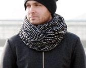 BLACK&WHITE Tube scarf