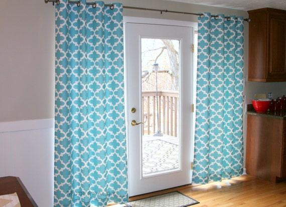 ... Curtains- 25 or 50W x 63 84 96 108 120 inch Quatrefoil Window