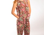 Floral jumpsuit romper by Laura Ashley sleeveless