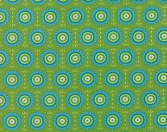 Sale Fancy sunny warm sage cotton fabric by Lily Ashbury for moda fabric 11495 15