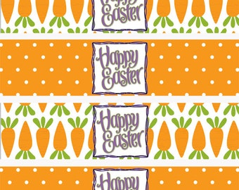 Easter Water Bottle Labels, Easter Napkin Rings, Easter Napkin Holders INSTANT DOWNLOAD (281)
