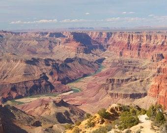 Grand Canyon print, Grand Canyon canvas, Grand Canyon vertical photo, Arizona photo, Southwest print
