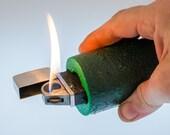 Customized Nimrod Commander Pipe Table Lighter - Frankenlighter #117