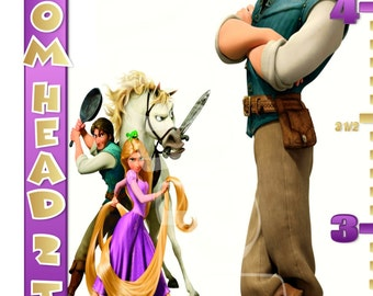 Disney's Tangled Personalized Custom Growth Chart banner