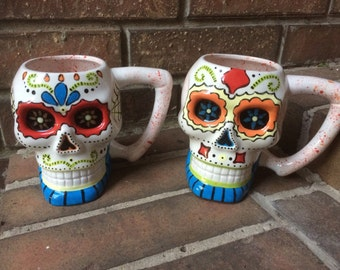 Personalized Sugar Skull Mug