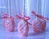 Pink Ballerina Slipper Cake Pops