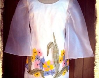 MINI   ///    Mod Embroidered Mini Dress