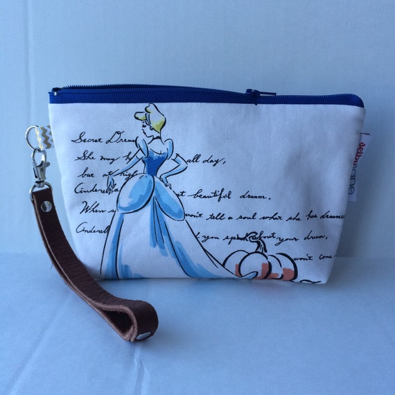 Watercolor Princess Wristlet