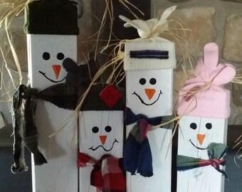 Happy Little Snowmen decoration