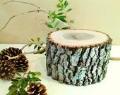 Large Rustic Tree Slice - Rustic Wedding decor -Home decor - Centerpiece - Tree stump - Wood tree slice - Holiday decor