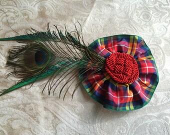 Buchanan Feathered Hair Clip