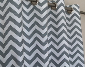 Curtains Ideas chevron curtains grey : 108 inch curtains | Etsy