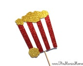 Photo Booth Props ~ Popcorn Photo Booth Prop ~  Carnival Collection