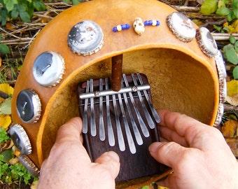 Mini Kalimba Soundboard with Mini Deze'
