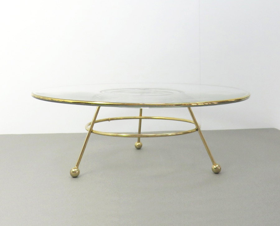 Gold Art Deco Cake Stand : Vintage wedding cake stand art deco cake stand glass dessert