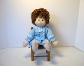 Doll, soft sculpture doll, cloth hug doll, girl doll