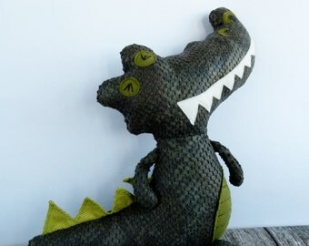 Crocodile Alligator plushie - Franky