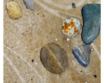 Sand, Stones & Shell Card