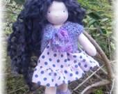 Waldorf doll, steiner doll  - 6 inches