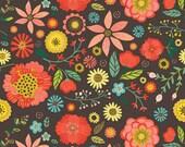 Roots & Wings by Deena Rutter for Riley Blake Designs, Main Brown, SKU C4150, 1 yd