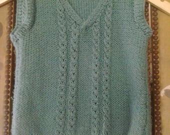 Pdf Crochet Pattern For Long Retro Waistcoat In Granny Squares