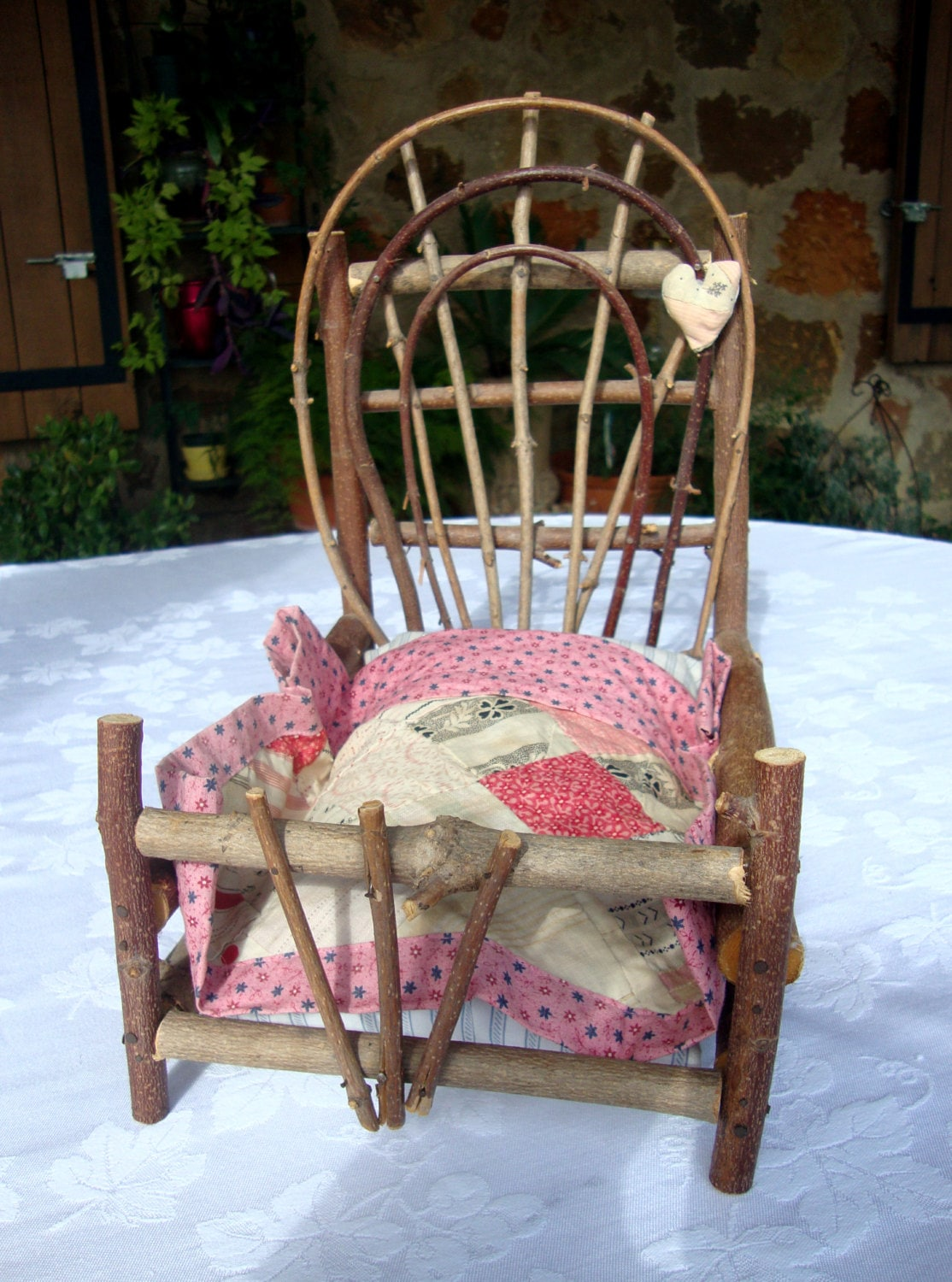 Mattress And Quilt Doll House Dollhouse Furniture Fairy Faery Garden