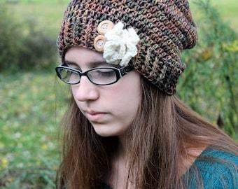 Crochet PATTERN - Slouchy Hat Pattern - Crochet Hat Pattern - Crochet Patterns for Kids - Baby, Toddler, Child, Adult Sizes - PDF 219
