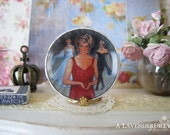 Princess Diana Queen of Fashion Plate for Dollhouse