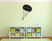 Adventure Skydiving Wall Decal