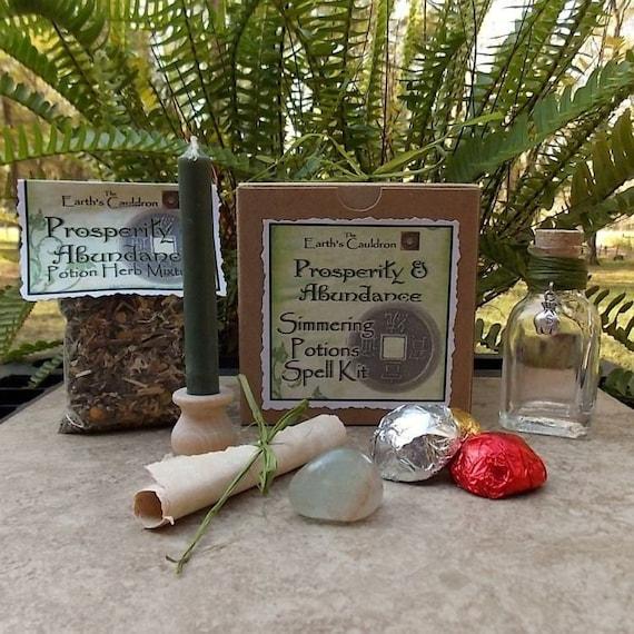 Prosperity & Abundance Simmering Potions Spell Kit