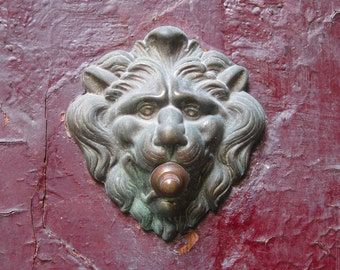 Image result for Venice, lion doorbell