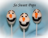 So Sweet Pops Happily Made Snowman Inspired Cake Pops
