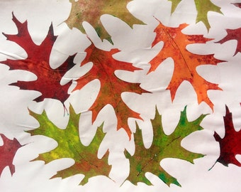 Oak Leaf ArtFoamies Foam Stamp
