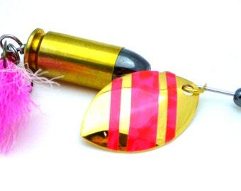 Pink Bullet Fishing Lure