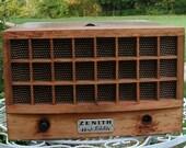 Vintage Mid Century Zenith High Fidelity Record Player